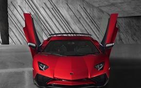 Картинка 2015, авентадор, Lamborghini, Aventador, LB834, LP 750-4, Superveloce, ламборджини, двери
