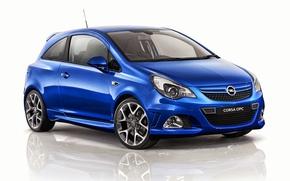 Обои фон, Opel, Corsa, опель, 2013, OPC, корса