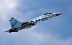 Обои сверхманевренный, реактивный, Су-35, истребитель, многоцелевой