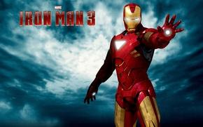 Обои постер, комикс, Tony Stark, Marvel, фантастика, Железный человек 3, Iron Man 3, костюм