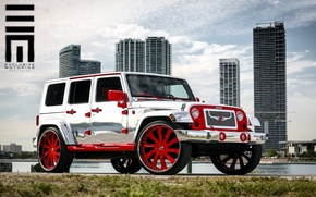 Картинка Jeep Wrangler, Exclusive Motoring Worldwide, Forgiato Design, Chrome Edition