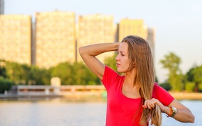 Картинка лето, девушка, город, волосы, часы, москва, загар, руки, тату, блондинка, татуировка, girl, красивая, fashion, мода, …