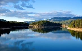 Картинка river, nature, lake