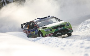 Картинка Ford, Sweden, Hirvonen, rally