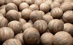 Обои Wood, Eggs, Balls, Laminted, Wooden