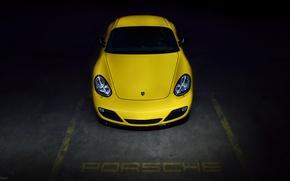 Картинка авто, Porsche, Машина, Cayman, перед, auto