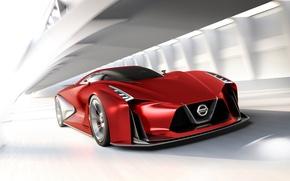Картинка Concept, концепт, Nissan, Vision, ниссан, гран туризмо, Gran Turismo, 2015, 2020