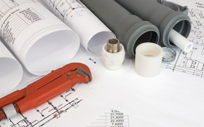 Картинка planes, paper, engineering, parts