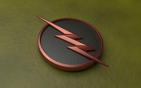 Картинка The Flash, 1 season, television, serial, comics, Reverse Flash, lightning, logo
