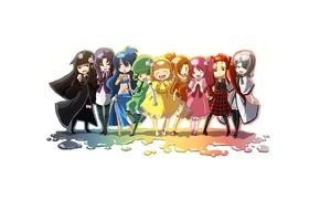 Картинка девочки, арт, анимешки
