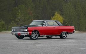Картинка Chevrolet, Red, 1964, Malibu
