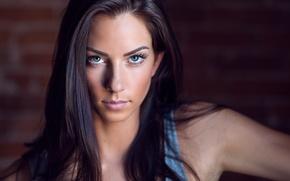 Обои sexy, look, model, Janna Breslin