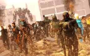 Картинка starcraft, Halo, Гордон Фримен, dead space, Mass Effect, art, crysis, bulletstorm, transformers, optimus prime, Shepard, …