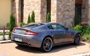 Картинка авто, Aston Martin, тюнинг, Vantage, астон мартин, задок, Cargraphic, карграфик