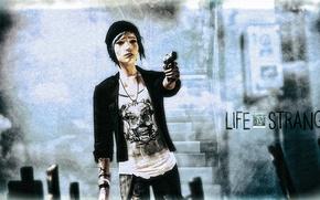 Картинка оружие, игра, fan art, Life is strange, Хлоя Прайс, Chloe Price
