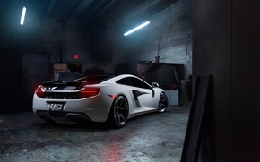 Картинка McLaren, MP4-12C, Tuning, Supercars, Wheels, Rear, ADV.1, Ligth, ADV6 TS