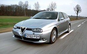 Картинка Alfa Romeo, Alfa, Sportwagon, Alfa 156, Alfa Silver, Alfa Romeo 156 Sportwagon
