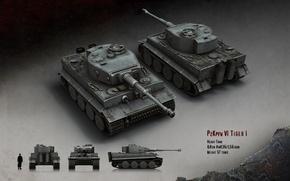 Картинка Тигр, танк, тяжелый