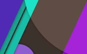 Картинка овал, зеленый, текстура, синий, линии, material