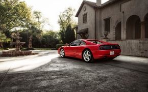 Картинка Ferrari, феррари, GTS, F355, 1994
