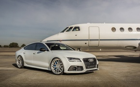 Картинка Audi, White, Series, RS7, M.V2, ADV7