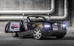 Картинка купе, Rolls-Royce, Phantom, Coupe, ролс ройс, фантом, Nighthawk, 2015, Drophead, дроп хеад