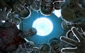 Картинка страх, зомби, Ужас, dead rising