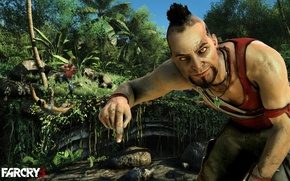 Картинка остров, action, Ваас Монтенегро, Vaas, Far Cry 3