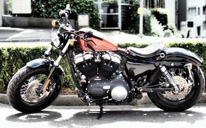 Картинка дизайн, фон, мотоцикл, Harley Davidson, Iron 833