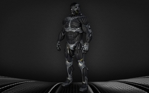 "Обои USA, strong, muscular, NY, Alcatraz, James ""Alcatraz"" Rodriquez, nanosuit 2, by thyrring, suit, man, James ..."