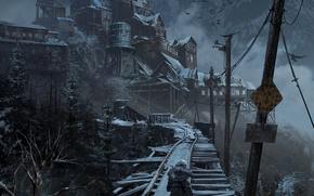 Картинка Девушка, Tomb Raider, Lara croft, Rise of the Tomb Raider