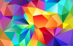 Обои Galaxy, Colors, Samsung, Abstraction