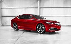 Картинка Concept, Acura, 2014, TLX
