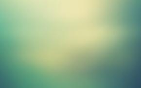 Картинка свет, фон, дымка, зеленое, бирюзовое