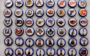 Картинка фон, крышки, хоккей, НХЛ