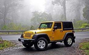 Обои джип, вранглер, Wrangler, Jeep