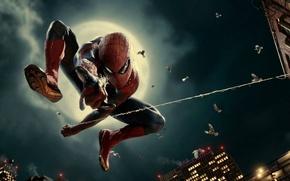 Картинка Sony, The Amazing Spider-Man, Новый Человек-паук, Superhero, Columbia Pictures