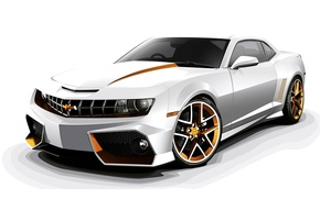 Обои 2012, chevrolet, camaro, custom, tuning, шевроле, камаро