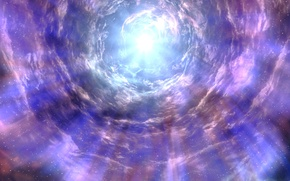 Картинка небо, звезды, свет, Skyrim, The Elder Scrolls V