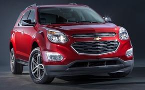 Картинка Chevrolet, Red, LTZ, Crossover, Equinox, 2016