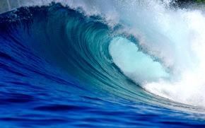 Картинка waves, beach, ocean