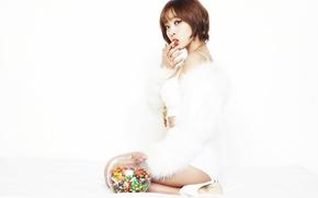 Картинка девушка, музыка, азиатка, Южная Корея, k-pop, Brown eyed girls, M&N
