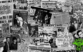 Картинка green day, punk rock, mike dirnt, billie joe armstrong, tre cool