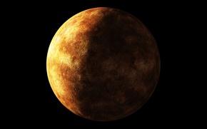 Картинка Экзопланета, Созвездие Лира, Родительская звезда KOI-070, Класс миниземель, Kepler-20 e