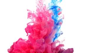 Картинка свет, дым, цвет, газ, фрактал
