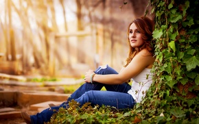 Картинка Rays, Long, Beauty, Model, Beautiful, Sunset, Girl, Woman, Pretty, Senior, Pose, Hair, Sun, Lighting, Canon, …