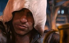 Картинка Черный Флаг, ассасин, Black Flag, Эдвард Кенуэй, Assassin's Creed IV