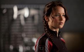 Картинка взгляд, Jennifer Lawrence, голодные игры
