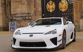 Картинка Lexus, white, lfa, salon, prive