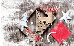 Картинка бумага, звезда, елка, месяц, рамка, олень, Рождество, картон, vintage, фигурки, винтаж, снежинка, ленточки, поделки